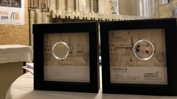 Die Sondermünze zum Naumburger Dom