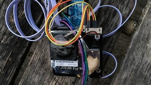 Der Feinstaubsensor SDS011 misst nach Angaben des Herstellers Partikelgrößen von PM2,5 und PM10.