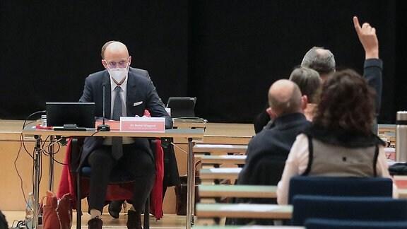 Halle: OB Bernd Wiegand Stadtrat