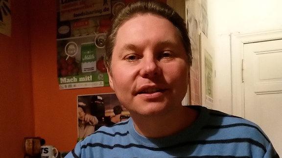 Marco Gergele, Gründer der Internetplattform Halle Verkehr(t)