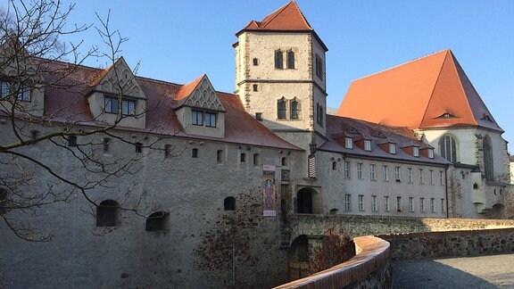 Moritzburg Halle mit Raureif