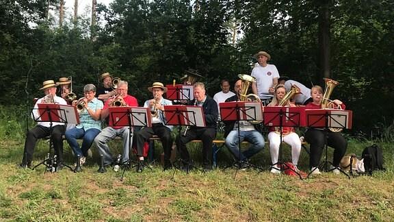 Die Pfingstgesellschaft Ahlsdorf ist die älteste im Mansfelder Grund