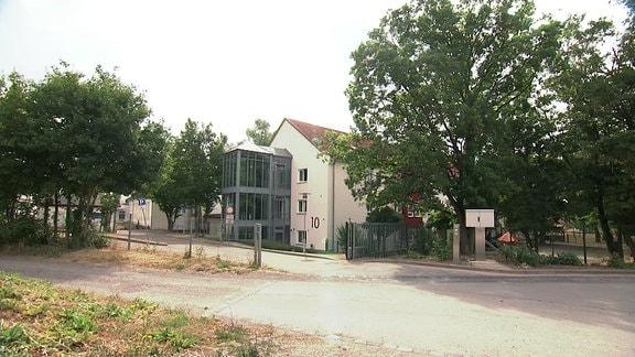 Ein Pflegeheim für Behinderte in Sangerhausen