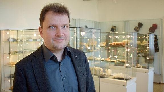 Sebastian Görtz, Museumsleiter in Hettstedt.