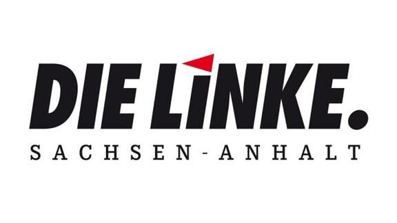 "Logo ""DIE LINKE Sachsen-Anhalt"""