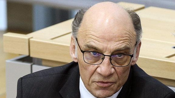Fraktionsvorsitzender Siegfried Borgwardt, CDU,Sachsen Anhalt.