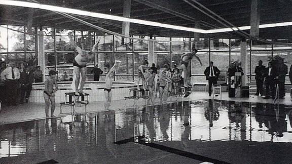 Das Harzbad Benneckenstein bei der Eröffnung vor fünfundzwanzig Jahren