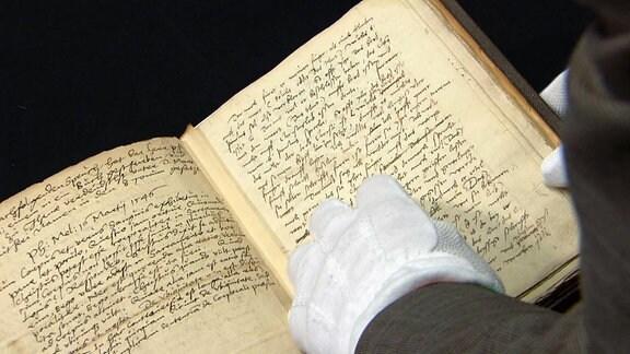 Eine alte Handschrift