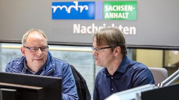 Programmmacher Torsten Ert ist für einen Tag Online-CvD bei MDR SACHSEN-ANHALT