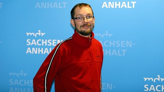 Programmmacher Christian Beier ist für einen Tag Social-Media-Redakteur bei MDR SACHSEN-ANHALT