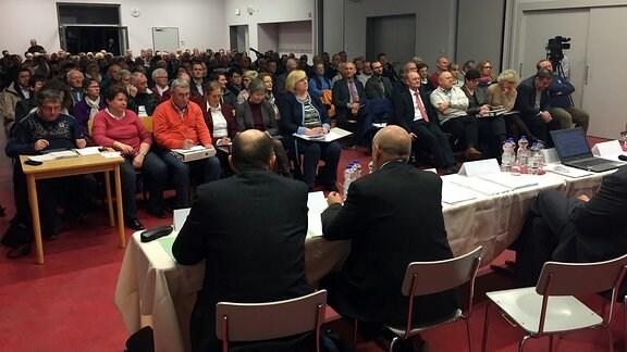 Bürgerversammlung Egeln