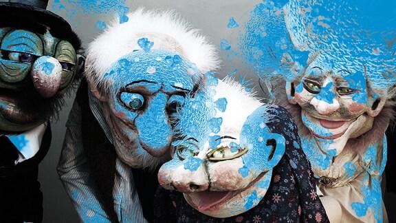 "Pressefoto zum Internationalen Figurentheaterfestival ""Blickwechsel"""