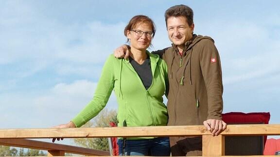 Verena Elschner und Michael Richter in Dolle.