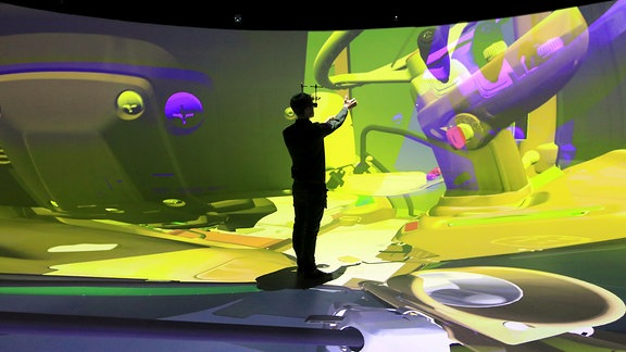 Europas größtes 3D-Mixed-Reality-Labor Elbedome