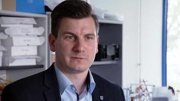 Daniel Vogel, Software-Entwickler bei Tonfunk.