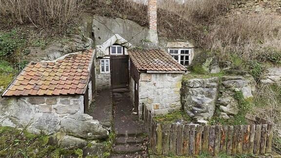 Historische Höhlenwohnungen
