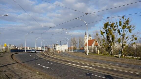 Blick auf die alte Strombrücke
