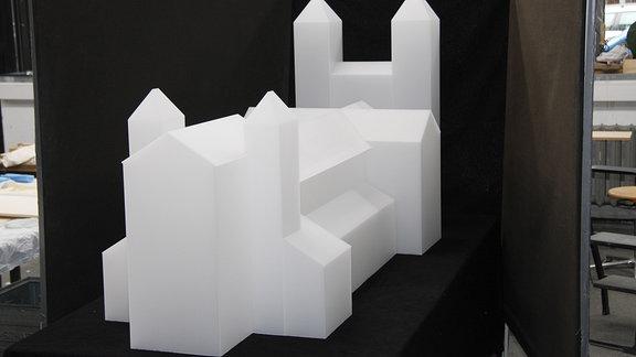Modell Ottonischer Dom