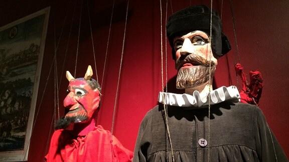 """Kinder und Jugendliche beim theaterpädagogischen Projekt """"Breaking the walls"""" am Puppentheater Magdeburg"""