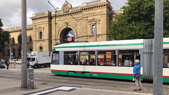 Straßenbahn Magdeburg Hauptbahnhof