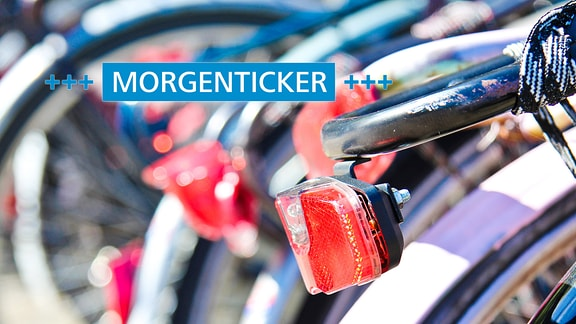 Morgenticker Fahrrad