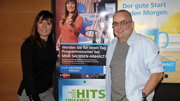 Programmmacher Andreas Kühne zu Gast bei MDR SACHSEN-ANHALT.