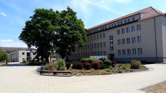 Campus der Polizei-Fachhochschule Aschersleben