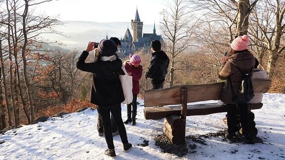 Eindrücke vom Schloss Wernigerode in Wernigerode am Harz im Bundesland Sachsen-Anhalt.