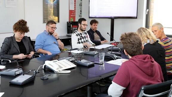 9-Uhr-Redaktionskonferenz bei MDR SACHSEN-ANHALT