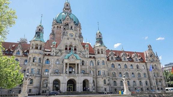 Das Neue Rathaus am Trammplatz