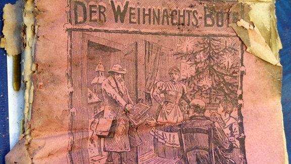"""Titelblatt der Zeitschrift """"Der Weihnachtsbote"""" aus dem Jahr 1905"""