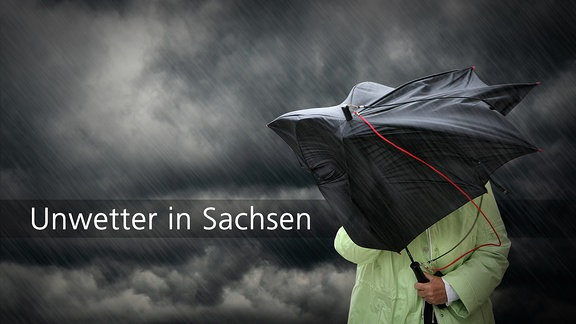Unwetter in Sachsen