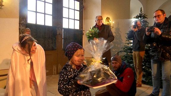Aschenbrödel Ausstellung Moritzburg Millionste Besucherin