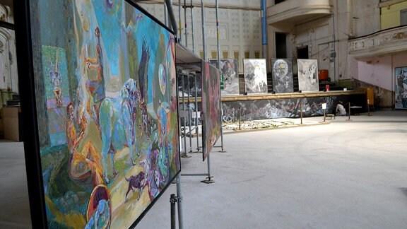 """In der Stadthalle Görlitz ist bis Oktober 2018 die Ausstellung """"Mythos Europa"""" zu sehen"""
