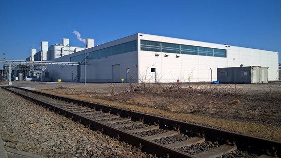BASF-Werke in Schwarzheide: proseat-Produktionshalle für Kfz-Kunststoffteile.