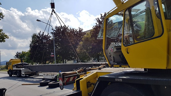Lkw Unfall in Bautzen