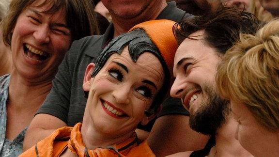 "Die Tukkers Connexion: ""Orange Frau"" mit Publikum"