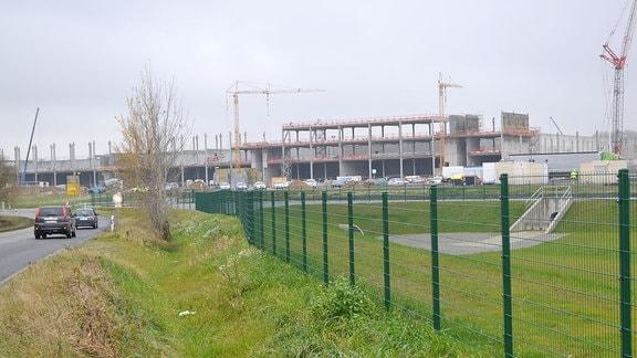 Gelände der Accumotive GmbH in Kamenz