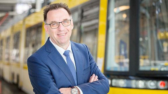 Michael Fohrer, Vorsitzender der Geschäftsführung Bombardier Deutschland