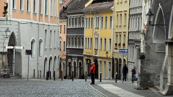 Blick in die Görlitzer Altstadt