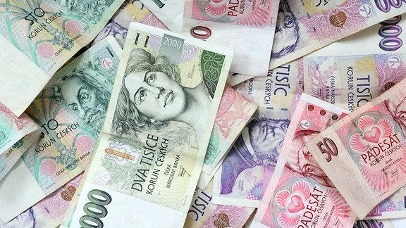 Tschechische Kronen (Geldscheine)