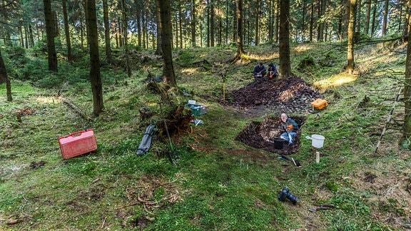 Bergbau im Erzgebirge schon in der Bronzezeit