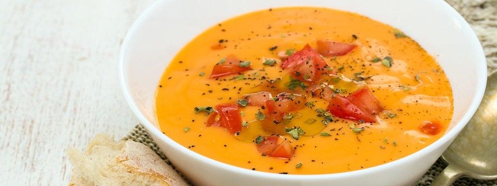 Rezept: Gazpacho - Kalte Tomatensuppe aus Spanien | MDR.DE