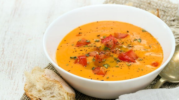 Gazpacho - Kalte Sommersuppe und ein Klassiker der spanischen Küche