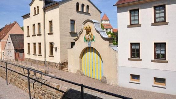 Posttor in Wurzen