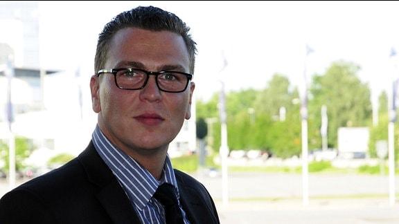 Frank Vollgold, Sprecher der Bundesagentur für Arbeit in Sachsen