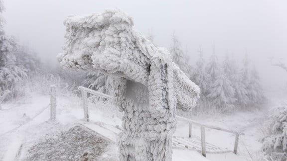 Fichtelberg Schnee