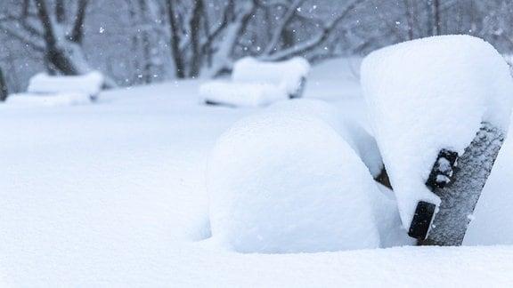 Schnee Oberwiesenthal