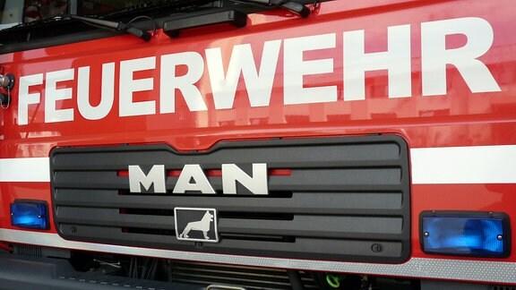 Altes Mercedes Löschfahrzeug