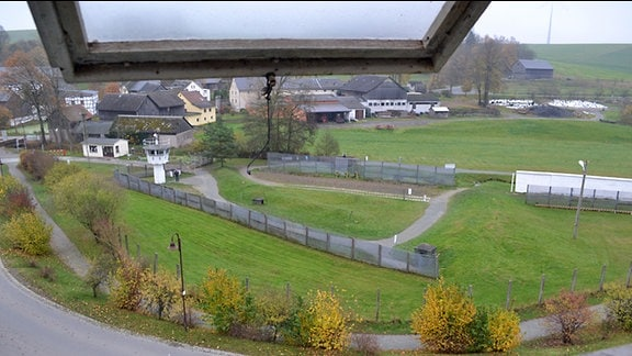 Blick über das Grenzmuseum Mödlareuth